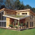 Aussenjalousie am Holzhaus